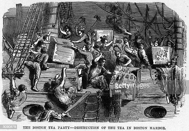 the boycott of british tea an american protest Notice that the writer especially encourages women to avoid british tea the american boycott of british goods under the townshend acts—the american board of.