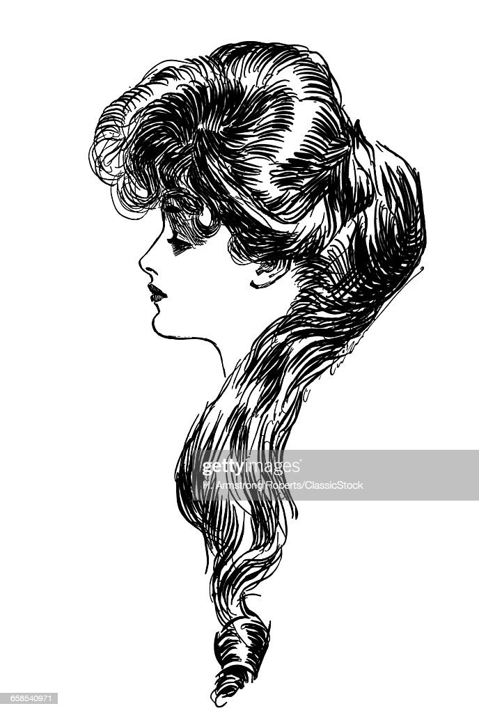 1900s 1898 PROFILE SKETCH...