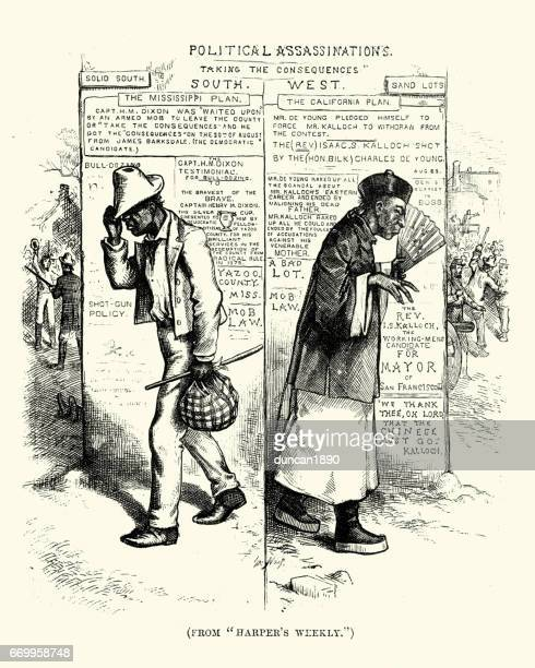 19th Century Satire on immagration in the USA