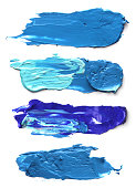 Abstract acrylic brush strokes. I am the Artist. I am the owner of the copyright.