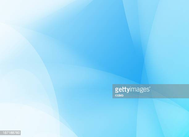 Abstract background in various shades of light blue