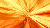 Abstract Blazing Lava Tunnel Or Vortex
