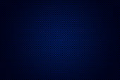 Abstract background obtained by superimposing dots pattern on blue gradient vignetted background. Layer and color effect made in Photoshop.