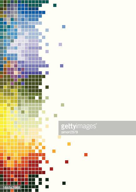 Abstract - colorful pixels