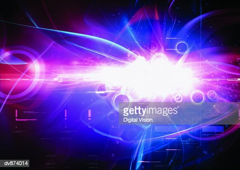 Abstract digitally generated image : Stock-Illustration
