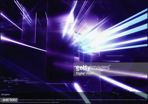 Abstract digitally generated image : Stock Illustration