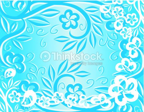 abstract floral background for your design ベクトルアート thinkstock