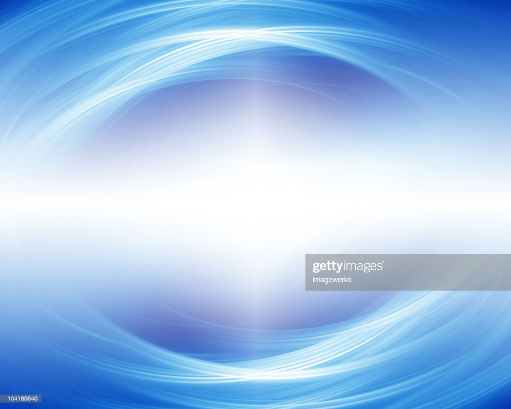 Abstract pattern on blue background : Stock Illustration
