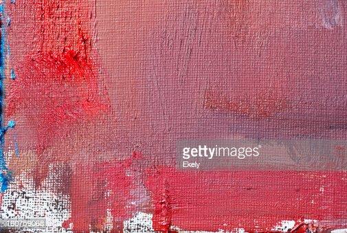 Astratto dipinto sfondo rosso d'arte. : Stock Illustration