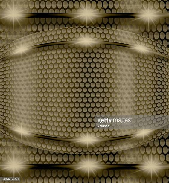 Abstract shiny bronze metal background