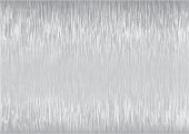 Abstract silver brushed backdrop with light reflection and grain