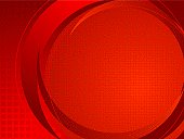Abstract technical background in red with room for your own copy