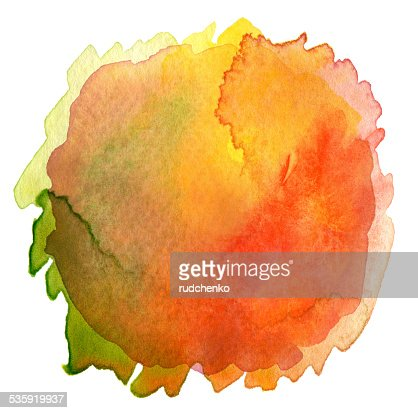 Abstract watercolor hand painted background. : Stock Illustration