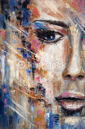 Abstract woman : Ilustração de stock