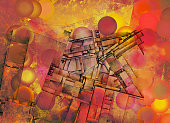 Futurism Abstract