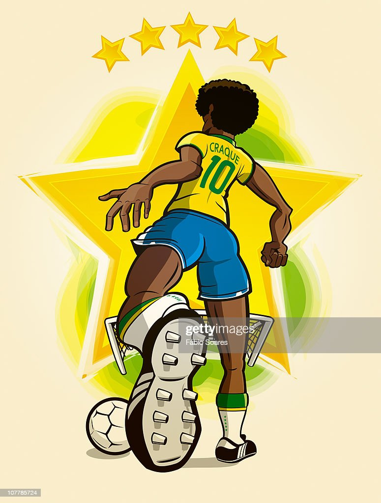 Ace of the Ball : Stock Illustration