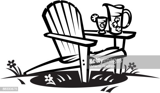 Adirondack Chair Vector Art Thinkstock