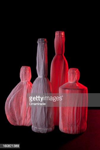 Bevande alcoliche gratuite In rosso : Stock Illustration