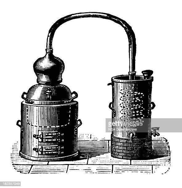 Alembic | Antique Design Illustrations