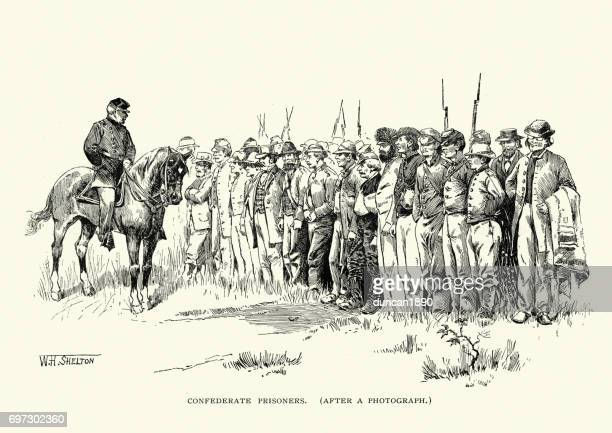 American Civil War, Confederate Prisoners