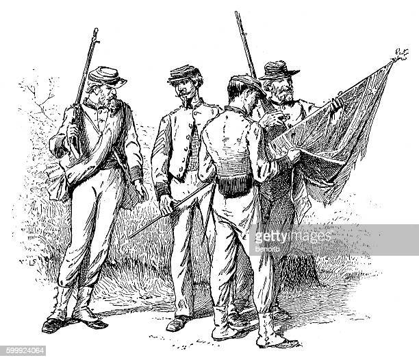 The contribution of the confederate south to the american civil war
