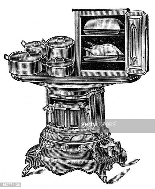 American kerosene stove