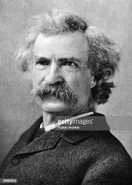 Image result for getty images mark twain
