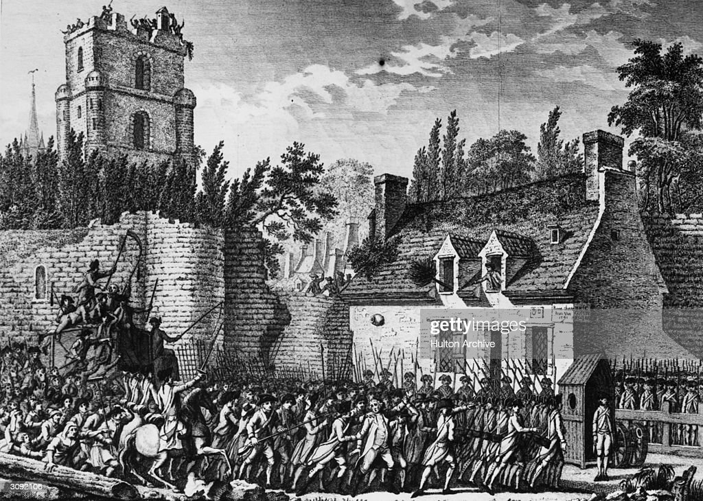 Image result for mob storming the castle