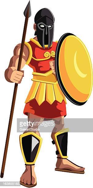 ancient warrior spartan