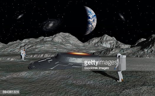 Apollo Astronauts Discover A Ufo On The Surface Of The ...