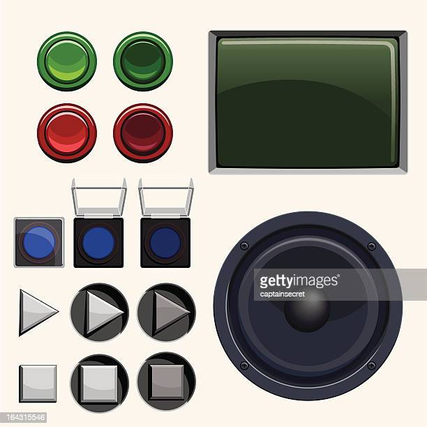 Arcade & Stereo Button Collection
