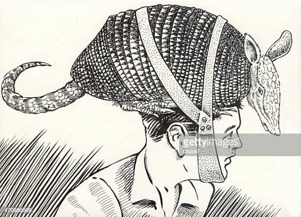 armadillo hat