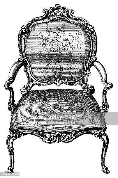 Armchair   Antique Design Illustrations