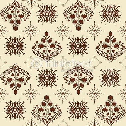 Art Nouveau Pattern Stock Illustration