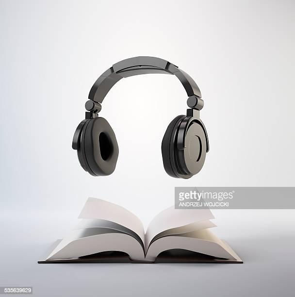 Audio book, artwork