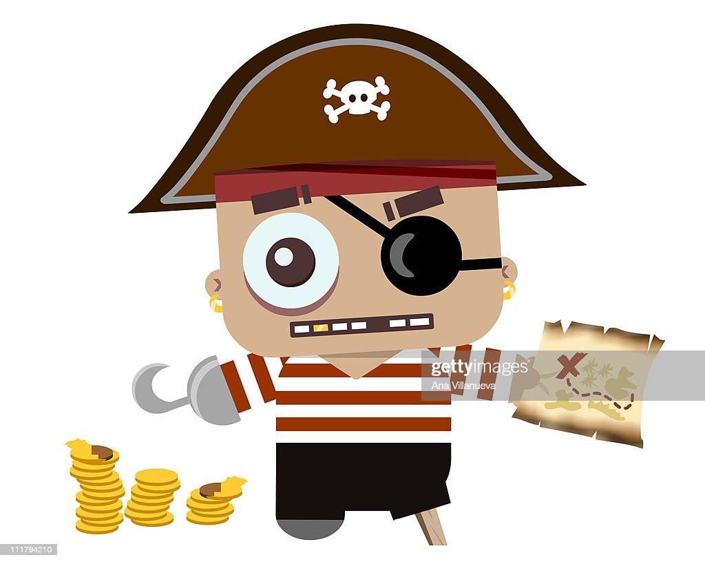 Baby Pirate : Stock Illustration