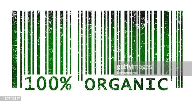 Bar code indicating organic products