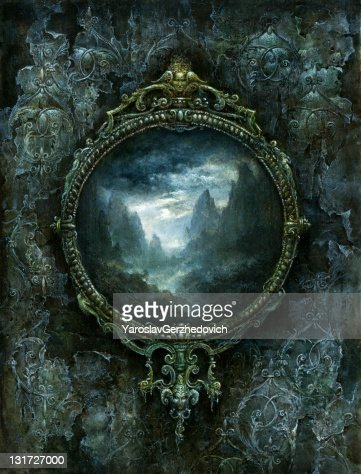 Baroque Frame : Stock Illustration