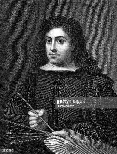 Bartolome Esteban Murillo 1618 1682 the Spanish painter who founded the Academy Of Seville of which he became first president circa 1648 He died...