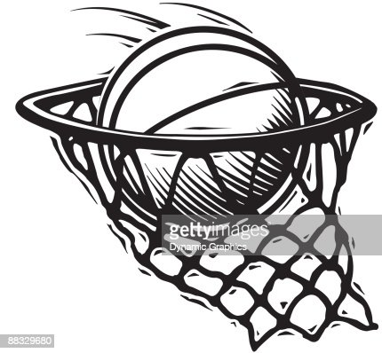 basketball going into net nothin but net nice shot also