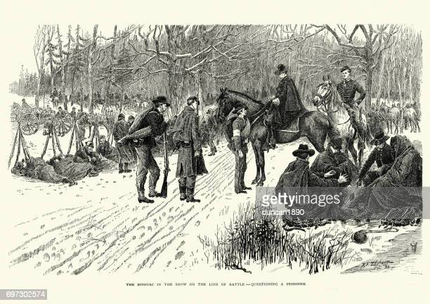 Battle of Fort Donelson, Questioning a Prisoner