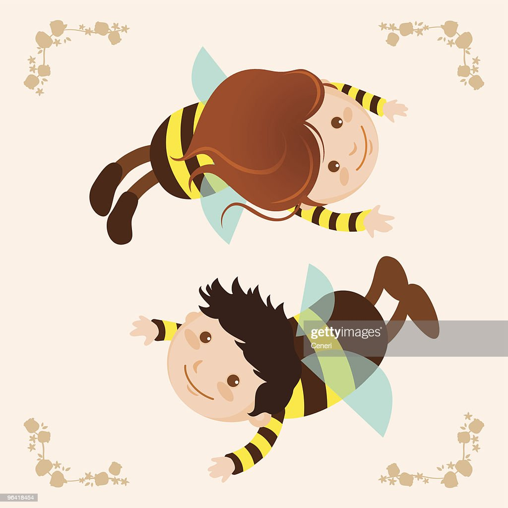 bees : Vector Art