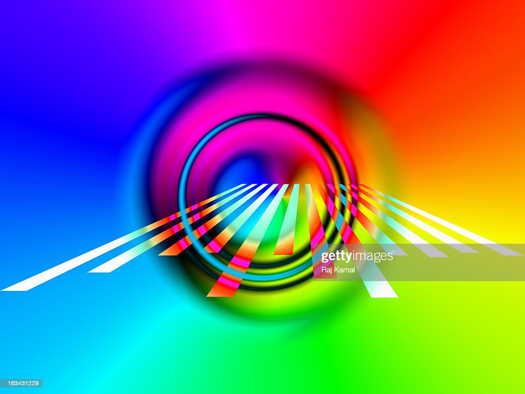 Beyond the Eye Abstract : Stock Illustration