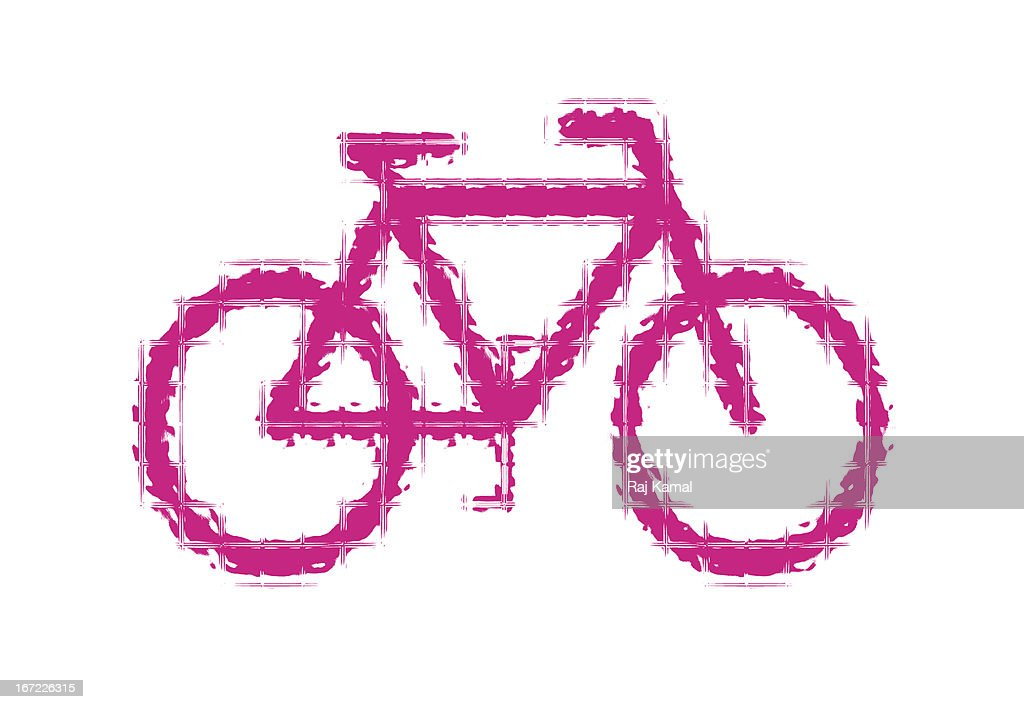 Bicycle Symbol : Stock Illustration