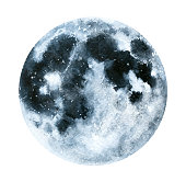 Black, grey colors, circle, full view. Hand drawn water colour painting, isolated on white background.