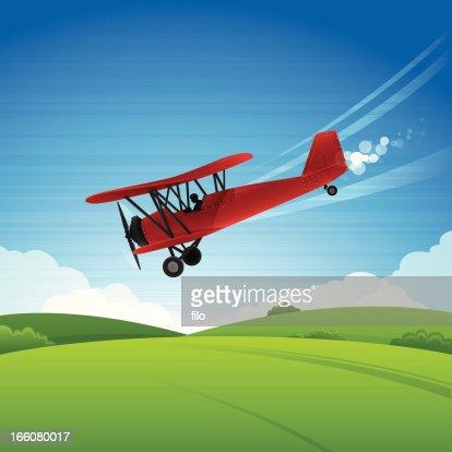 skywriting airplanes landing