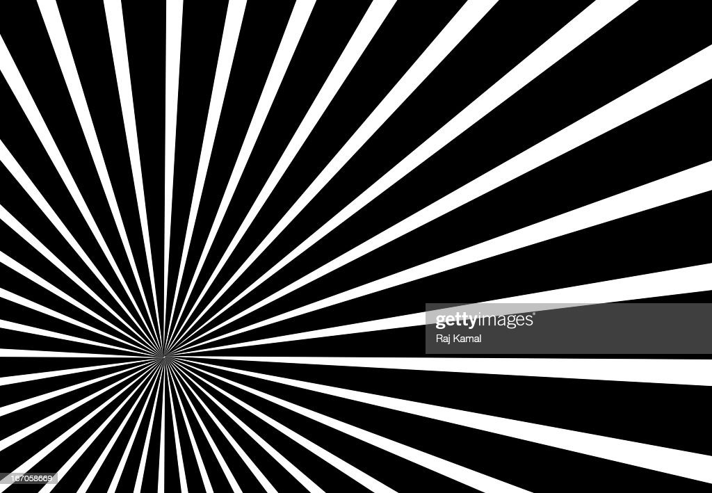 Black and White Abstract Design : Stock Illustration