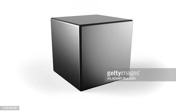 Black cube, artwork