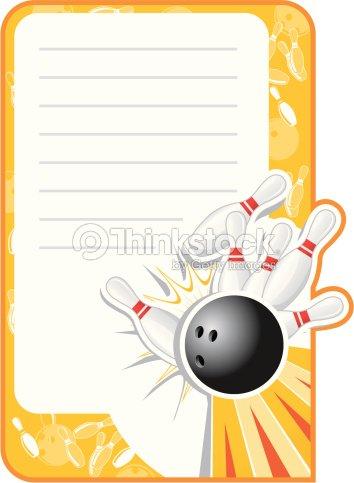 Blank bowling invitation vector art thinkstock blank bowling invitation vector art stopboris Choice Image