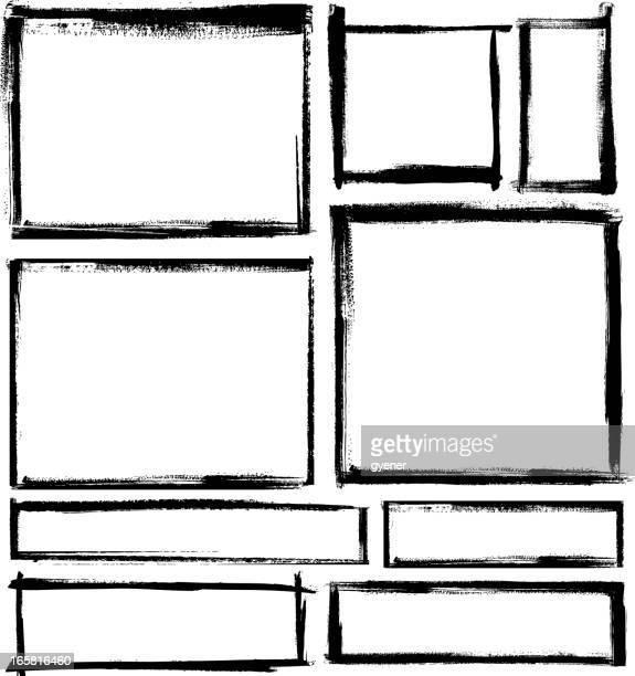 blank frame set